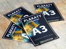 Plakaty A3, Drukarnia MCKK LUBIN, druk express