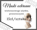 Promocja Maska ochronna, przyłbica, półprzyłbica - 1