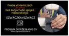 szwaczka - praca w Niemczech bez znajomości języka od zaraz