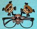 Okulary z czaszkami okulary z czaszką helloween czachy
