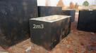 Szambo jednokomorowe, ziemianka, szamba szczelne betonowe - 1