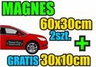 Reklama magnetyczna na samochód / Magnesy na auto / Projekt