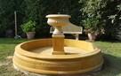 Fontanna ogrodowa z piaskowca - kamień naturalny - 3