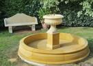 Fontanna ogrodowa z piaskowca - kamień naturalny - 7