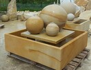 Fontanna ogrodowa z piaskowca - kamień naturalny - 4
