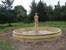 Oryginalna i stylowa fontanna piaskowiec kamień - 9