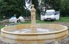 Oryginalna i stylowa fontanna piaskowiec kamień - 7