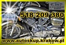 SKUP MOTOCYKLI 125-1000cm3 SKUP AUT AUTO SKUP Kraków