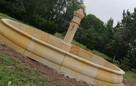 Oryginalna i stylowa fontanna piaskowiec kamień - 2