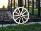 kolo drewniane do wozu drabiniastego - 5