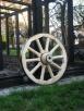 kolo drewniane do wozu drabiniastego - 6