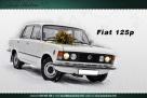 Fiat 125p do slubu Biała Podlaska