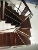Schody metalowe, nierdzewne, na konstrukcji - 6