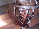 schody balustrady chromoniklowe barierki kręte Dębica
