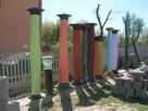 Kolumny betonowe filary podpory głowice doryckie - Turobin - 2