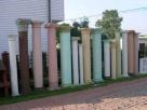 Kolumny betonowe filary podpory głowice doryckie - Turobin - 3