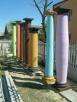 Kolumny betonowe filary podpory głowice doryckie - Turobin - 4
