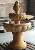 Piaskowiec, kamień naturalny, rzeźba, fontanna, donica
