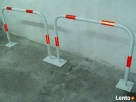 Blokady parkingowe, stojaki na rowery - produkcja Wolsztyn
