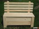 Ławka,Kufer, Skrzynia drewniana Ziębice