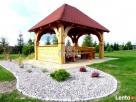 Altana drewniana ogrodowa z grillem altanka projekt cena - 2