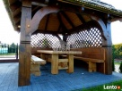 Altana drewniana ogrodowa z grillem altanka projekt cena - 3