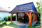 Altana drewniana ogrodowa z grillem altanka projekt cena - 4