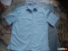 Koszula jeansowa meska TRAPEZ zapinana na guziki Ostrołęka
