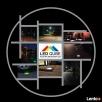 █▬█ █ ▀█▀ Świecąca kostka brukowa LED RGB  - 4