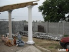Kolumny betonowe,glowice kolumn Lubanie