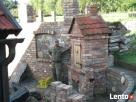 łupany kamień łupanie kamienia ogrodzenie mur wjazd itp. Trzciel