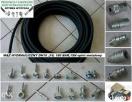 Wąż hydrauliczny DN10, 180 BAR, 1SN, oplot metalowy Nidzica