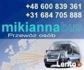 Busy do Holandii,Busy do Niemiec,Wielkopolska,Kalisz,Ostrów Ostrów Wielkopolski