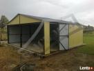 Garaż Blaszany 6x6 Dwuspadowy WZMOCNIONY PRODUCENT - 4