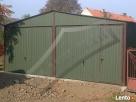 Garaż Blaszany 6x6 Dwuspadowy WZMOCNIONY PRODUCENT - 3