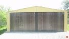 Garaż Blaszany 7x8 z dachem dwuspadowym Lubartów