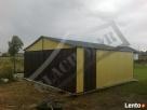 Garaż Blaszany 6x6 Dwuspadowy PRODUCENT PROFIL Rudna