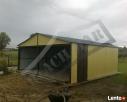 Garaż Blaszany 6x6 Dwuspadowy WZMOCNIONY PRODUCENT - 6