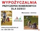 Wypożyczalnia przyczepek rowerowych dla dzieci Warszawa