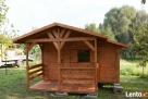 Altany altanki domki ogrodowe narzędziowe wiaty zadaszenia - 5