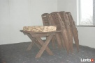Promocja tanie meble ogrodowe komplet składane altanki wiaty - 5