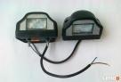 Lampa oświetlenia tablicy rejestracyjnej diodowe LED 2 szt Nidzica