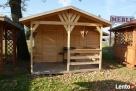 Altany altanki domki ogrodowe narzędziowe wiaty zadaszenia - 2