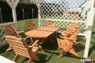 Promocja tanie meble ogrodowe komplet składane altanki wiaty - 1