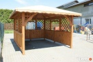 Altanka altanki wiata garażowa zadaszenie altany domki - 3