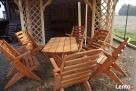 Promocja tanie meble ogrodowe komplet składane altanki wiaty - 6