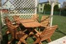 Promocja tanie meble ogrodowe komplet składane altanki wiaty - 8