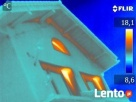 Badanie termowizyjne budynku Cena PROMOCYJNA do 30 września