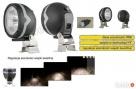 Halogenowa owalna lampa robocza LOR4 z regulacją światła Nidzica