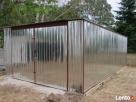 Garaż metalowy 4x6 ,garaże,wiaty,hale,kojce,bramy garażowe Grabica